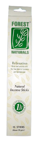Bâtons d'encens Forest Naturals Relaxation