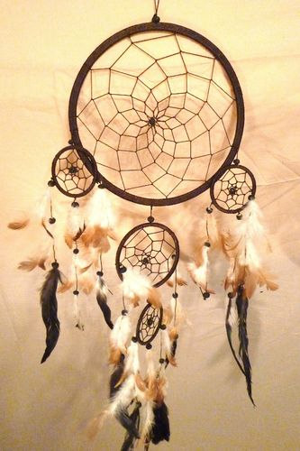 Dreamcatcher Quintuple 17 cm