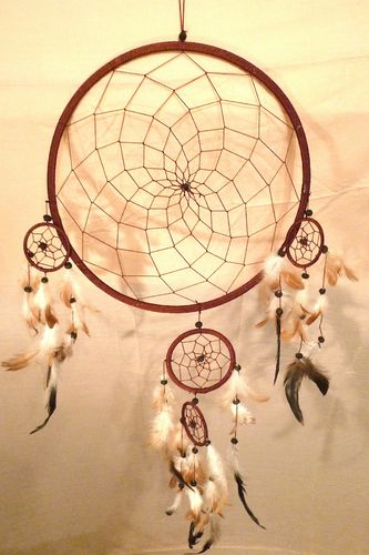 Dreamcatcher Quintuple 32 cm
